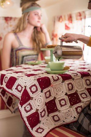 Caravan tablecloth