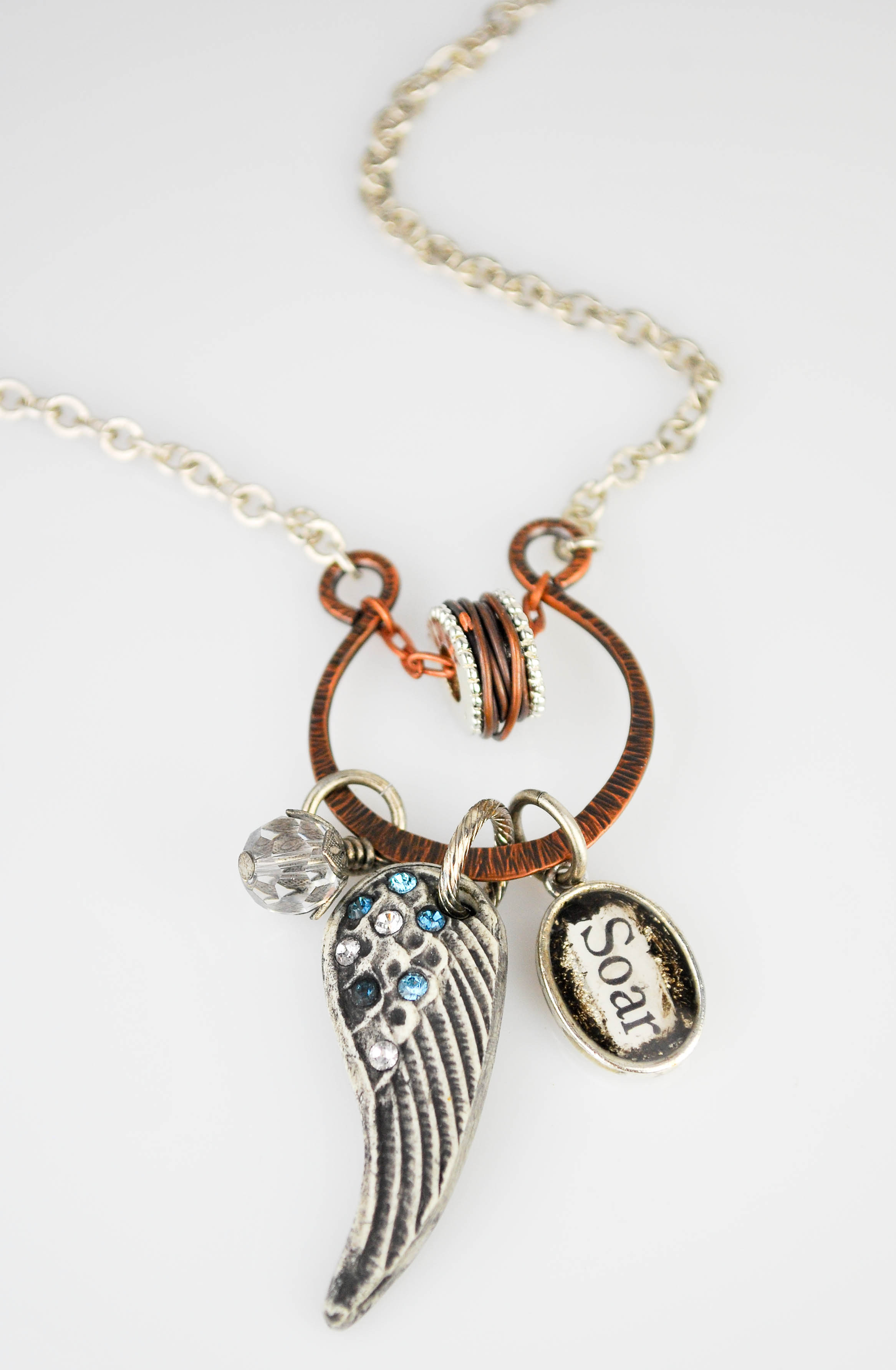 Make your own metal look charms epoxy clay and resin charm make your own metal look charms epoxy clay and resin charm necklace aloadofball Image collections