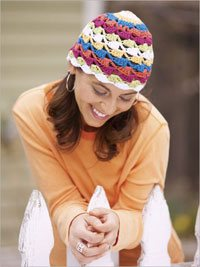 Shell Stitch Crochet Hat