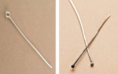make your own head pins and eye pins