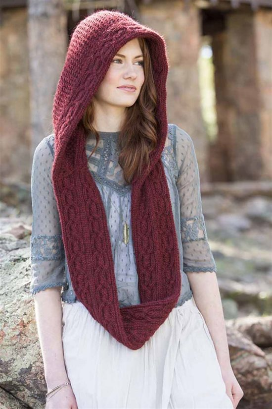 Crochet Ever After: Crochet Hooded Scarf