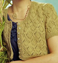 Ginkgo Leaf Knitting Pattern : Nature in Knitting: Leaves - Interweave