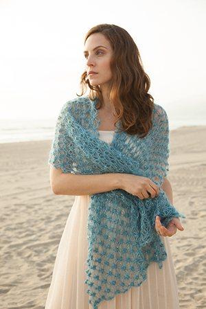 Love Knot Crochet Shawl