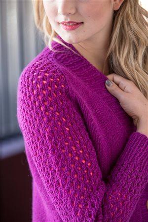 Beatrice Perron Dahlen Baler Cardigan knit.purl Spring/Summer 2015