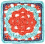 Learn how to do this ripples on a coral reef crochet afghan pattern.