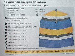 Swedish hat pattern scan