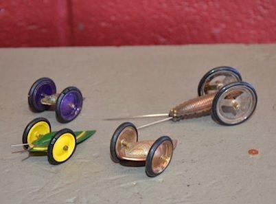 Richard Sweetman's buggies made with hydraulic press