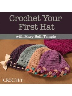 Crochet Your First Hat Video
