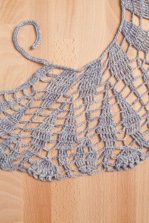 Winterfrost Wrap detail