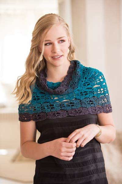 Crochet So Lovely: Lace Crochet Capelet