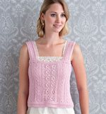 Make the Giselle Vest by Simona Merchant-Dest and learn how to save yarn with crochet stitches.