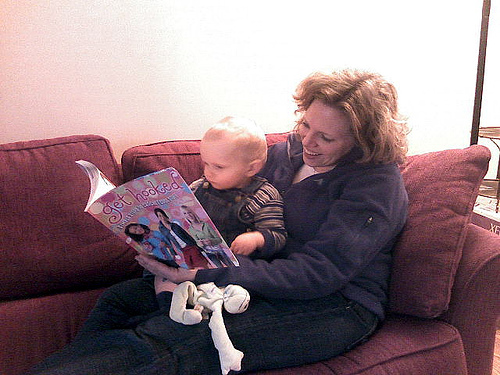 Crocheting = Good for Babies