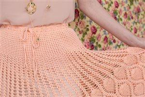 Pineapple Skirt tie