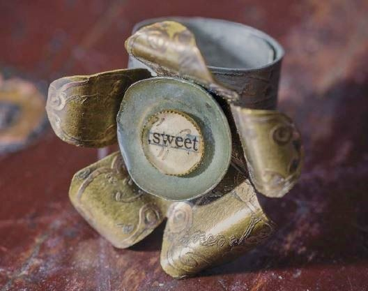 In Her Garden ring from Making Etched Metal Jewelry