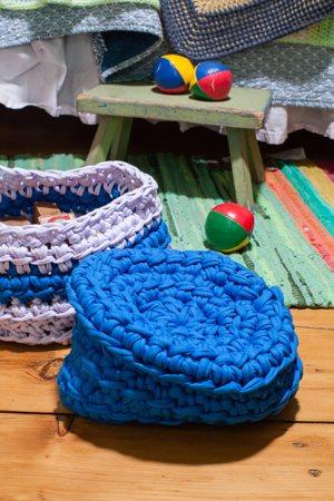 Linked Nesting Baskets Closeup