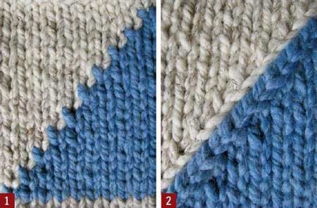 Intarsia Knitting Patterns : Intarsia Knitting: Smooth the Jagged Edge - Interweave
