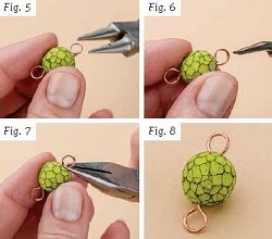 Learn how to do wrapped wire loops in jewelry making the right way with these expert tips.
