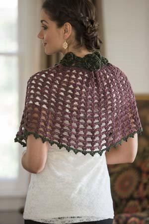 It Girl Crochet: Capelet