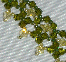 beadweaving crystals