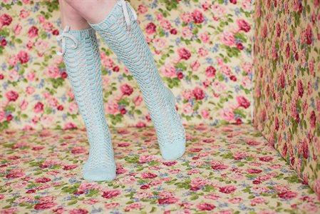 Chablis Socks lace