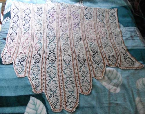 Designing a Crochet Wedding Dress - Interweave