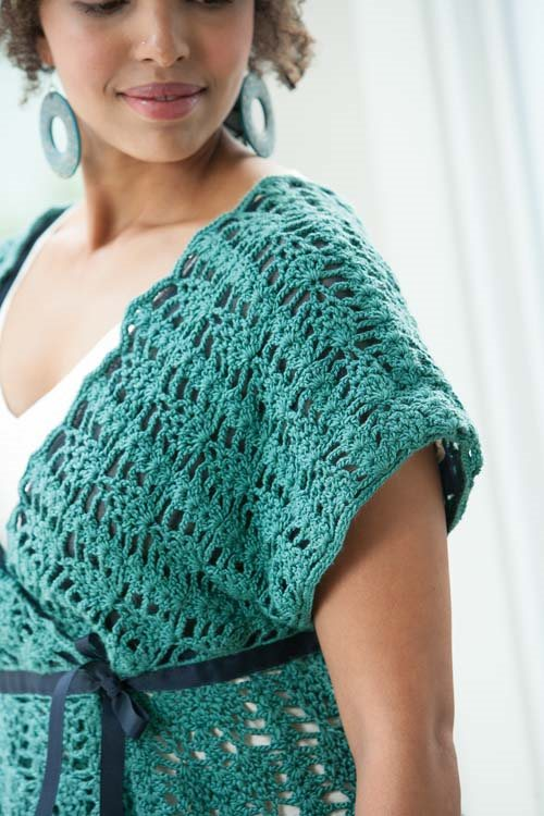 Blueprint Crochet Sweaters: Crocheted Lace Tunic