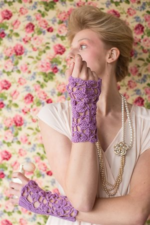 Lavender Wristers