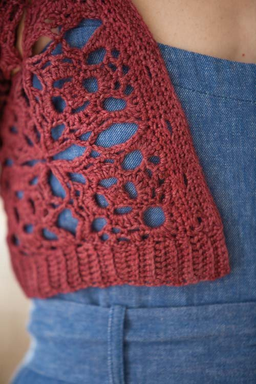 Blueprint Crochet Sweaters: Crochet Shrug