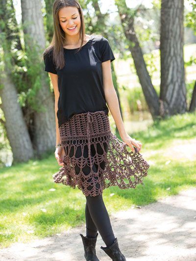 Colorful Crochet Lace: Skirt