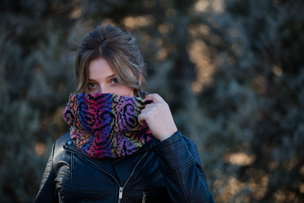 Knit the Ramona Phoenix Cowl & Treat Yourself