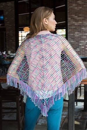 Fission Shawl back