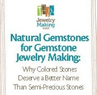 Learn how to make gemstone jewelry the right way in this FREE jewelry-making eBook.