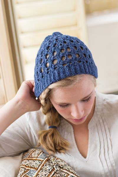 Crochet So Lovely: Short-row Crochet Beanie