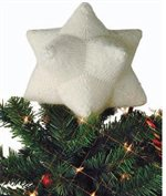 Celestine by Norah Gaughan is a holiday knitting project found in our free Knitting Gifts eBook. This Celestine is a perfect knitted gift to put on top of a Christmas tree.