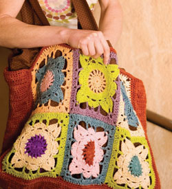 The Larger Than Life Bag by Cecily Keim is the perfect large crochet bag pattern to finish.