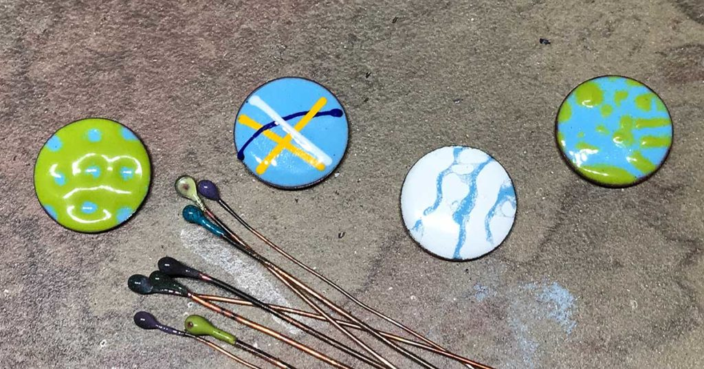 Tammy Honaman's Top 5 Favorite Torch-Fired Enameling Techniques
