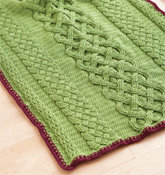 Crochet cable baby afghan interweave crochet cable baby afghan dt1010fo