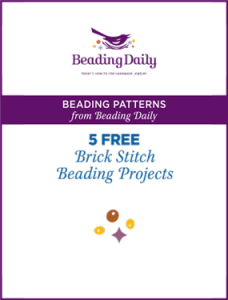 Free brick stitch beading projects you have to try!