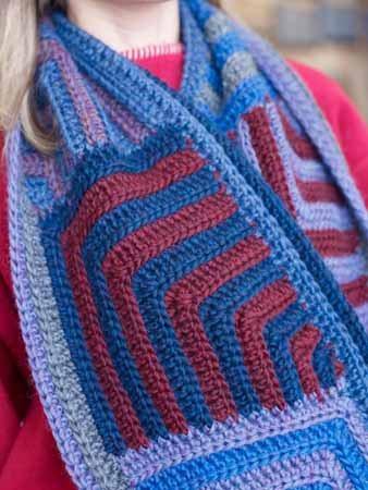 Kathy Merrick Crochet Scarf