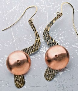 Learn how to make these beautiful earrings in a FREE earring-making project eBook.