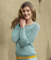 Lace Crochet Sweater