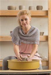 Potter's Shawl Jen Lucas IW Knits Spring 2015