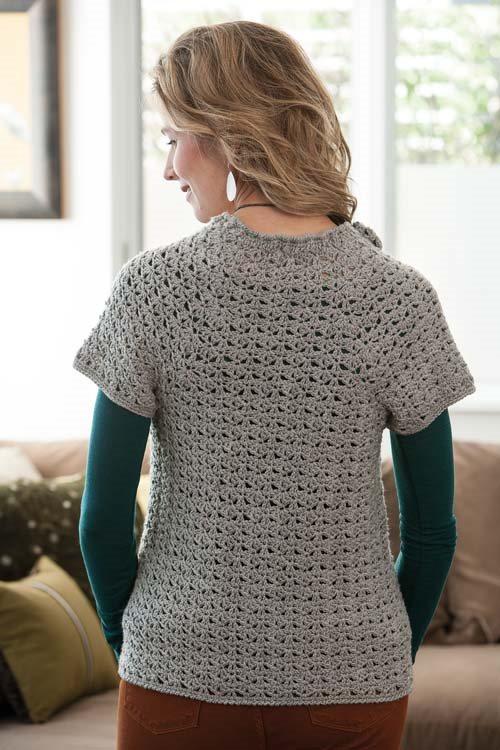 Blueprint Crochet Sweaters: Shell Stitch Crochet Cardigan
