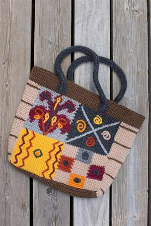 Outback Tote detail