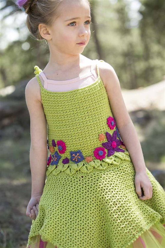 Crochet Ever After: Kids Crocheted Dress