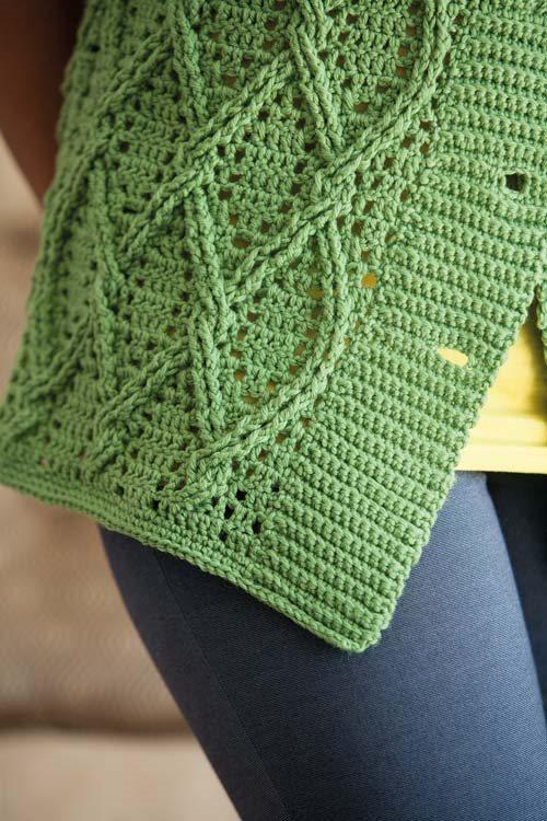 Blueprint Crochet Sweaters: Crochet Ribbing
