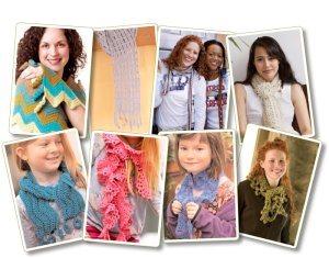 Free Crochet Scarf Patterns eBook