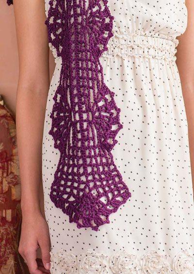 Colorful Crochet Lace: Crochet Scarf