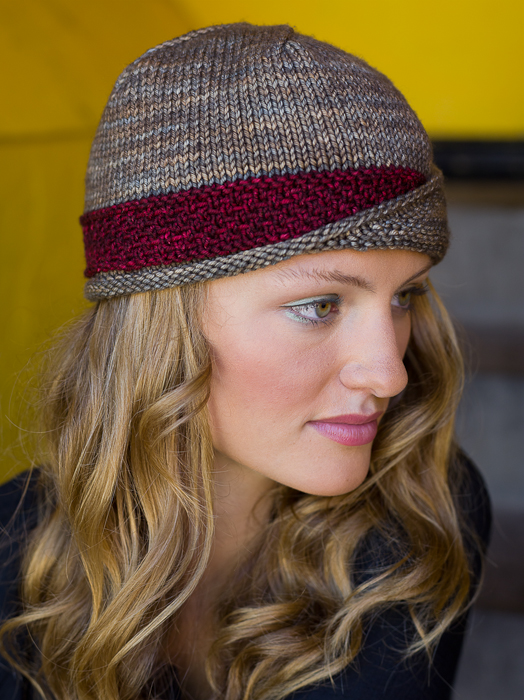Free Knitting Pattern Ladies Hat : Knit a Modern Hat with Classic Style: The Lucy Hat ...