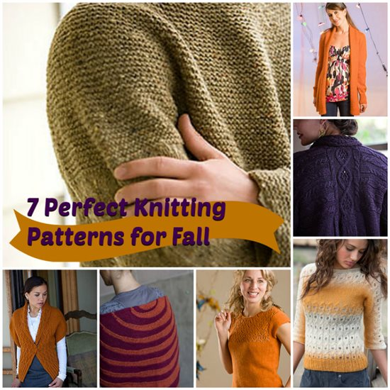 7 cool knitting projects inspired by the colors of fall in one downloadable eBook
